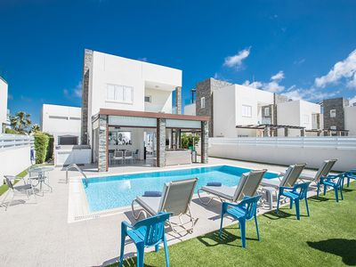 Photo for Villa Alina, Luxury 4BDR Protaras Villa with Pool, close to Beach and Amenities