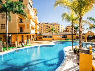 Photo for Exclusive apartment close to the beach and Puerto Banus