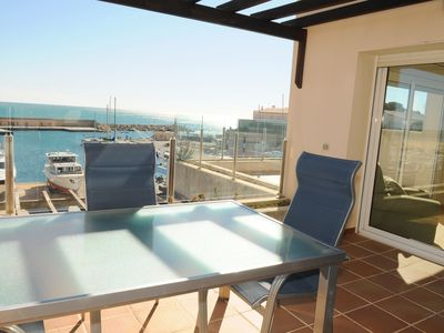 Photo for <![CDATA[Beautiful Apartment With Sea Views Residencial Marina Del Port 36]]>