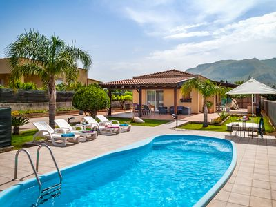 Photo for Private Villa with Private Pool, placed in Alcamo near Castellammare del Golfo