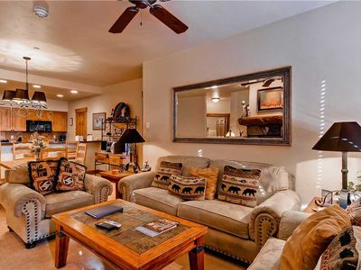 Photo for Comfortable Mountain Vibes in this Beatufiul Home! 4 Pools, 10 Hot Tubs! CL3101