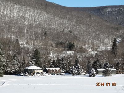 No finer place to be in a beautiful winter wonderland!