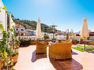 Photo for Elegant Villa with Terrace, Balcony, Beautiful Views, Wi-Fi & Air Conditioning