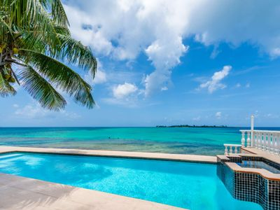 Photo for Sea View Beach Villa , private pool and Jacuzzi