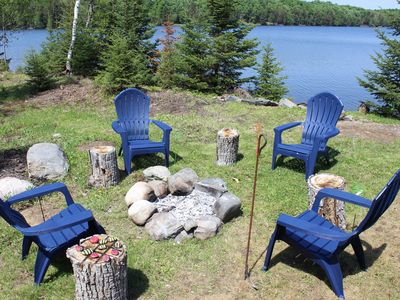 Photo for SUNDOG LAKE COTTAGE (Republic, MI): 1 hour from Marquette! Pets welcome!