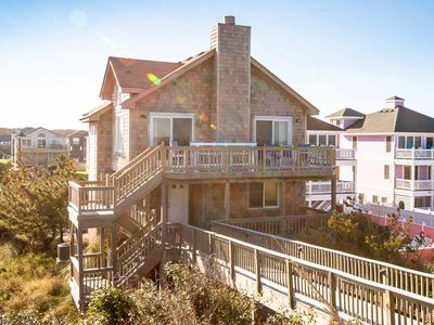 Photo for K0082 Shore Leave. Oceanfront Home with Ocean Views located in Nags Head!