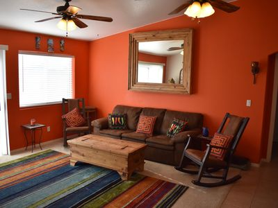 Photo for Arizona Getaway, Cozy home away from home! Desert and River Fun