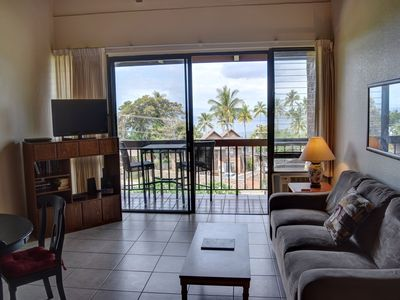 Photo for Partial Ocean View Condo with Great Location