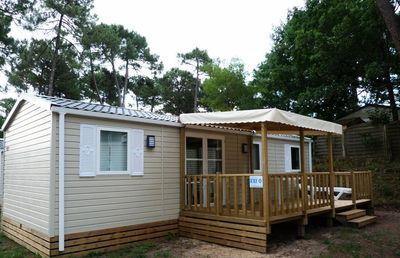 Photo for Camping Le Domaine de Beaulieu **** - Mobile Home 5 Rooms 10 People 2 baths