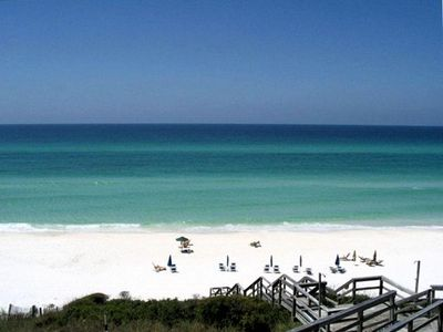 Photo for BEAUTIFUL GULF FRONT CONDO W/COMPLIMENTARY BEACH CHAIR SET UP