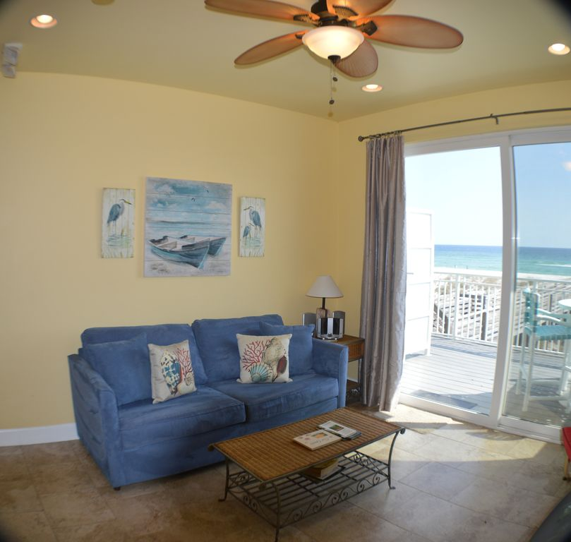 Panhandle Beach House Rentals: Southern Breeze #6, 1 BR, 1 1/2 BA Gulf Front Townhouse