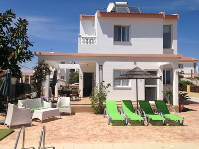 Photo for Ayia Thekla attractive 2 bedroom villa with private pool - FREE Wifi