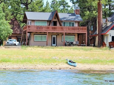 Photo for Modern Lakefront Combo: Updated Lakefront Dual-Cabin. Sleeps 6