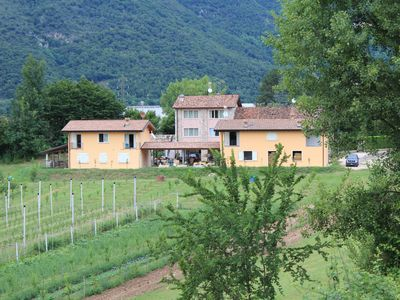 Photo for 6 km from Salò, nice one bedroom apartment in the countryside.