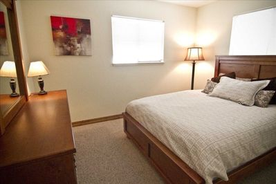 1 of the 2 Master Bedrooms
