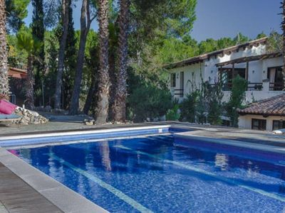 Photo for Olivella Villa, Sleeps 22 with Pool and Air Con