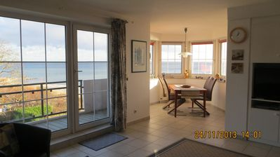 Photo for SR 11 - 2nd floor - great view of the Baltic Sea - direct beach location - SR 11 beach apartment right on the sea