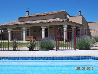 Photo for beautiful villa with garden and pool in Trets in Provence