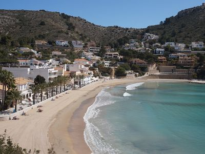 Photo for Garden apartment within walking distance to El Portet