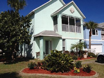 Photo for Beautiful Beach House with Ocean View Terrace - Walk to beach! Accommodates 16