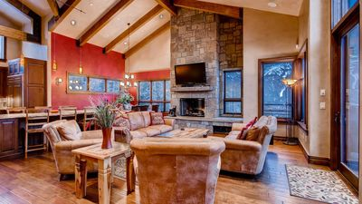 Photo for Lewis Ranch Lodge: True Ski-in/Out Home, Private Hot Tub, Pool Table, Theater