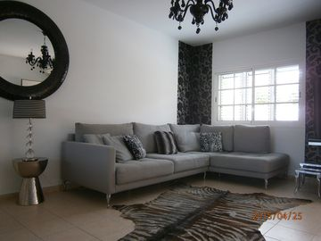 MELONERAS 2 BEDROOM HOUSE, POOL,AC ,WIF, SATELLITE TV, BBQ ,BEACH, SUPERMARKET