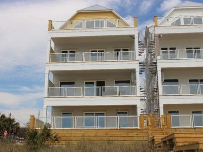 Photo for Sunset! NEW Construction, Beachfront - Pool - Grill - Outdoor Shower