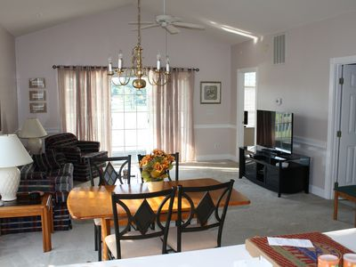 Photo for Beautiful, Quiet Condo Overlooking Golf Course. Centrally located.
