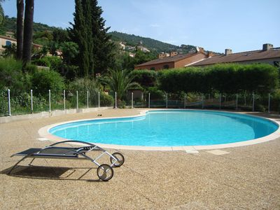 Photo for Mas in private residence with swimming pool in Bormes les Mimosas
