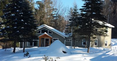 Photo for Stowe Ski House, Cozy Chalet with Fireplace, Wi-Fi, Cable