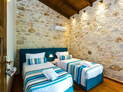 Photo for Traditional, stone-built villa with private pool, spectacular views, privacy