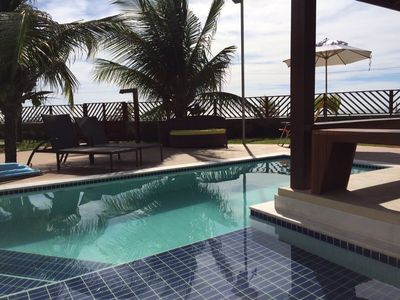 Photo for Beira Mar Bungalow with Private Pool