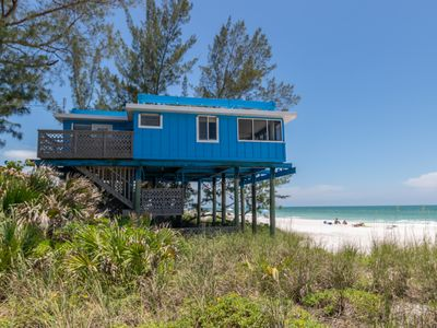 Crows Nest Rustic Gulf Front 3/2 Elevated Cottage With Amazing Gulf Views