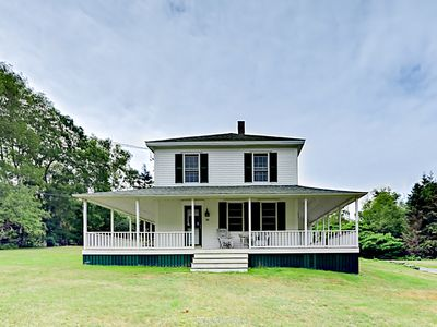 Photo for Classic New England Farmhouse - Walk to the Ocean, Kayaking, & Nature Trails