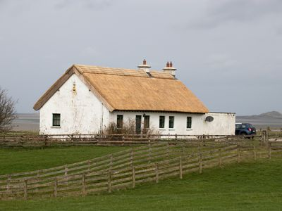 Photo for Thatched Country Cottage Overlooking Ballisodare Bay on the Wild Atlantic Way