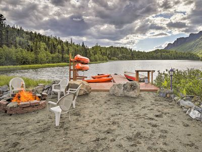 Photo for Chickaloon Home Next to Weiner Lake w/ Dock & Boat