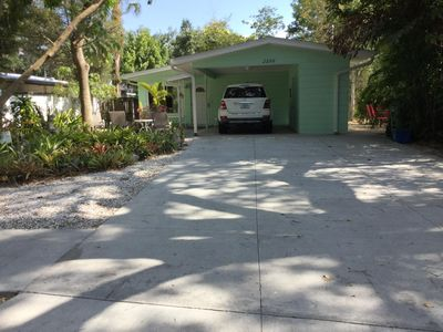 Photo for Sarasota vacation/rental A+ location, Newly Fenced in side and backyards!!!