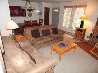 Photo for Great 2 bedroom family rental with mountain themed decor and modern amenities