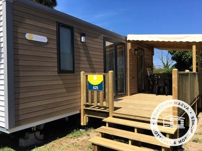 Photo for Camping Le Roussillon **** - Maeva Camping - Mobile Home 3 Rooms 4 People