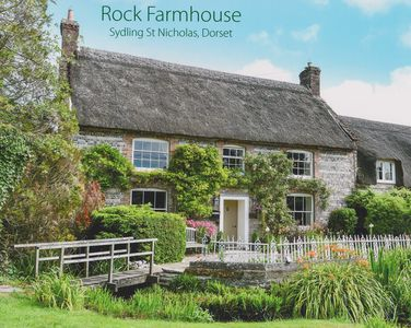 Photo for Classic English Country Cottage in Dorset AONB village with popular pub