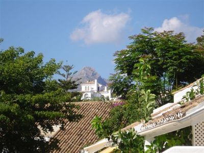 View of la Concha from the terrace