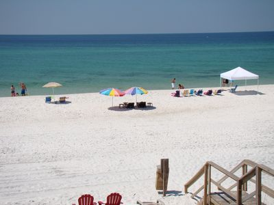 One of the most beautiful beaches in the world awaits you at your back door.
