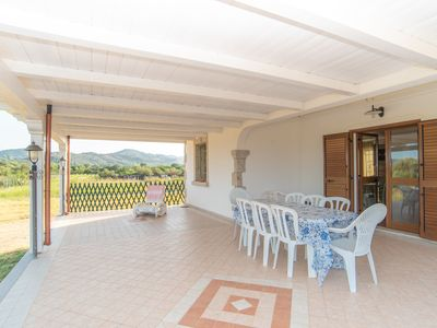 Photo for Idyllic Holiday Home with Wi-Fi, Garden & Terrace; Parking Available, Pets Allowed