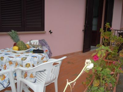 Photo for Apartment with two bedrooms and a bathroom 350 meters from the beach of Procchio