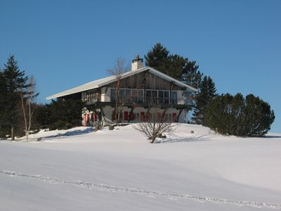 Photo for Exceptional views close to ski slopes and village.