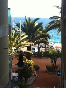 Photo for Nice apartment with sea view, near nightclubs, restaurants, shops