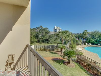 Photo for Cozy studio w/ shared pool & lovely bay views - Beach nearby, Snowbirds welcome!