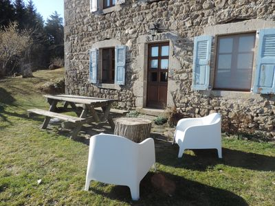 Photo for cottage in the countryside near Chalencon village classified
