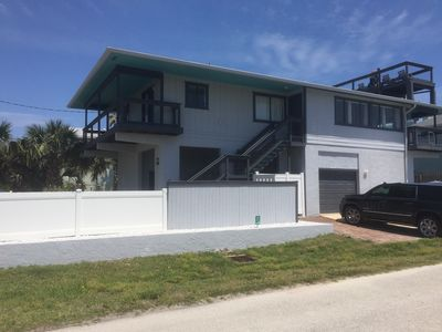 Photo for Ocean access across the street home with private pool in New Smyrna Beach.