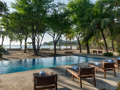 Photo for Private And Gated Beach Front Retreat (Sleeps 16) On Exclusive Playa Majagual!